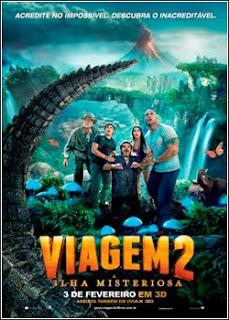 Viagem 2   A Ilha Misteriosa   DVDRip AVI Dual Áudio + RMVB Dublado