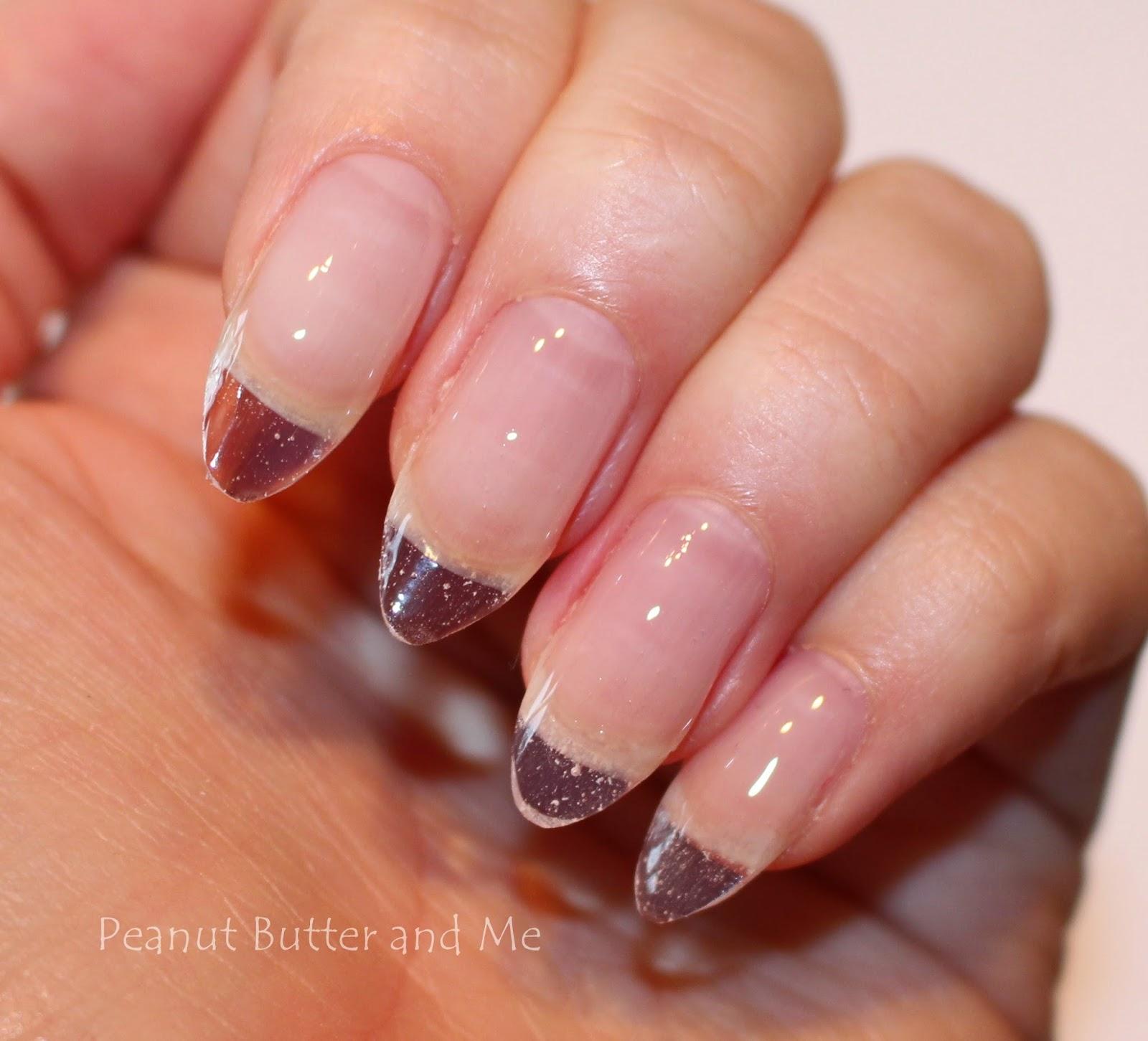 Наращивание ногтей фото миндали