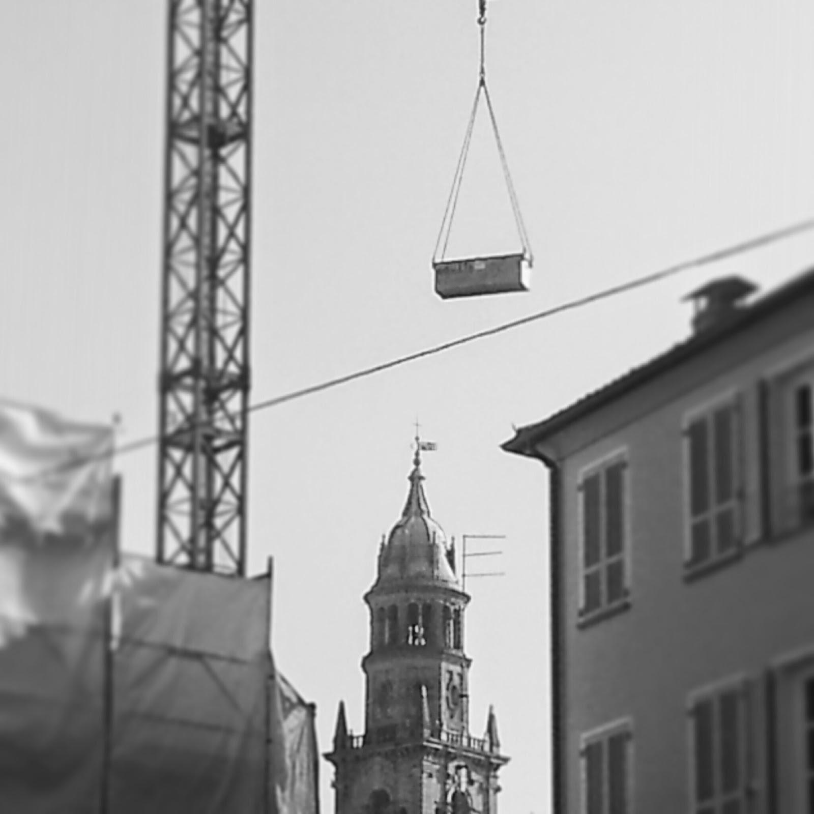 Stabilita 2015. Foto cantieri intorno a campanile - by Alberto Cardino