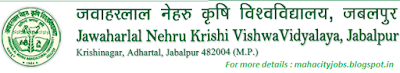JNKVV, Jabalpur Recruitment 2015 www.jnkvv.org