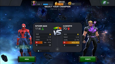 Game MARVEL Contest of Champions MOD APK