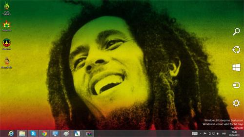 Reggae Rasta Bob Marley