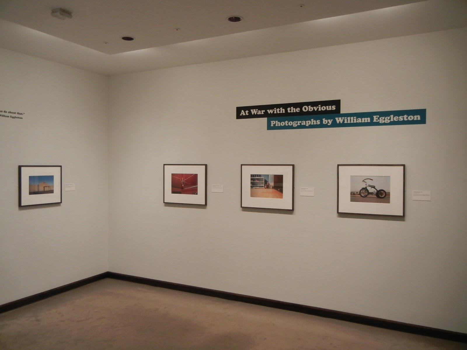At War with the Obvious: Photographs by William Eggleston @Met