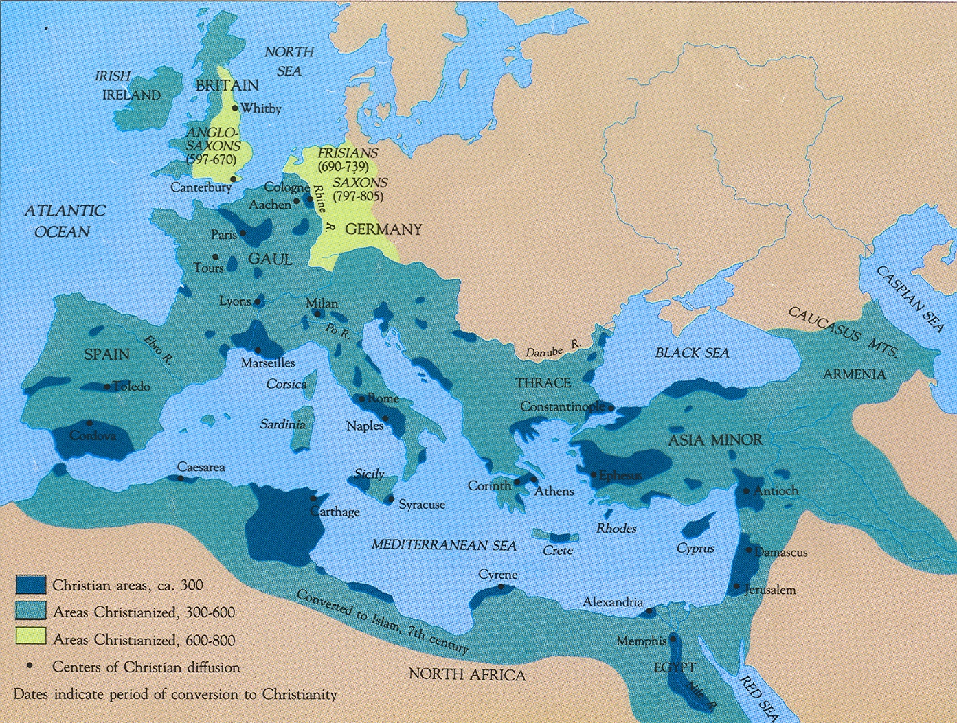 How Christianity emerged and spread during the early Roman Empire