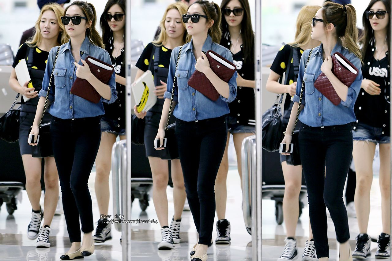 Everlasting Friends Girls Generation Snsd Airport Fashion