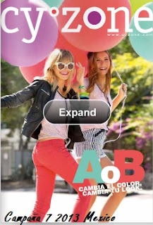 catalogo cyzone campaña 7 MX 2013