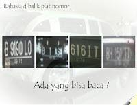 Rahasia dibalik plat nomor mobil, Agung Ngurah Car