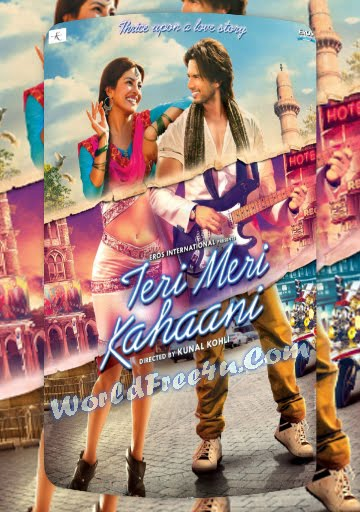 Poster Of Hindi Movie Teri Meri Kahani (2012) Free Download Full New Hindi Movie Watch Online At worldfree4u.com