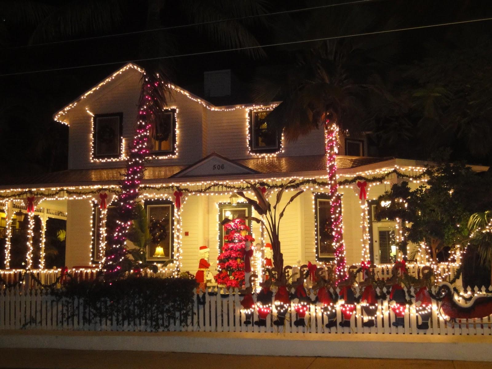#B17D1A Aux Etats Unis : Noël Dans Les Keys 5329 décorations de noel aux etats unis 1600x1200 px @ aertt.com
