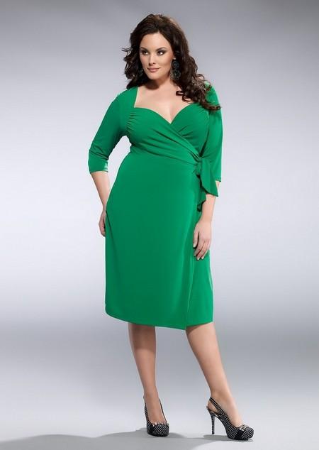 Ділові сукні для повних моделі