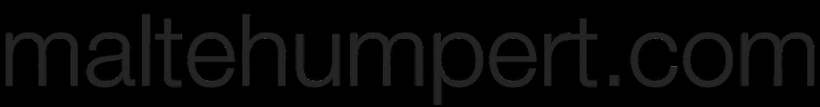 MalteHumpert.com