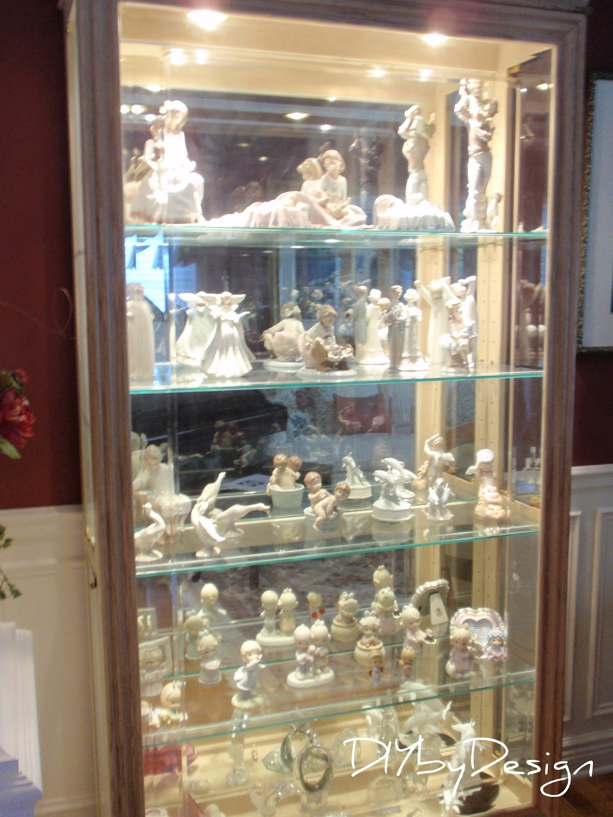 #8A7241 DIY By Design: Lladro Porcelain with 1200x1600 px of Brand New Glass Display Cabinet Diy 16001200 pic @ avoidforclosure.info