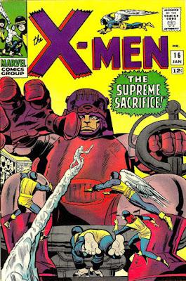 X-Men #16, Sentinels