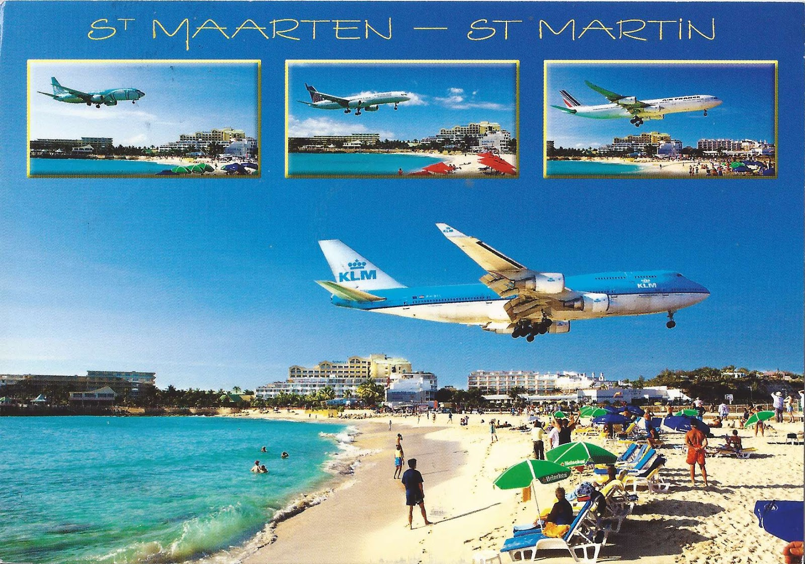 Journey of Postcards: A postcard from the West Indies: Sint Maarten