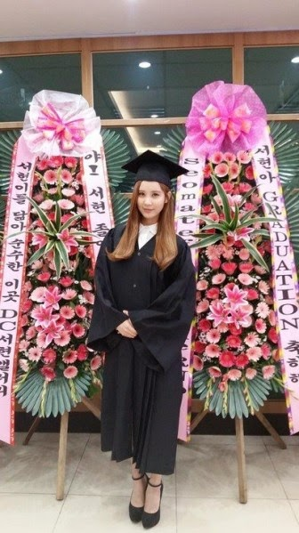 Pada 21 Agustus kemarin, Seohyun dinyatakan lulus dan diwisuda Dongguk University.