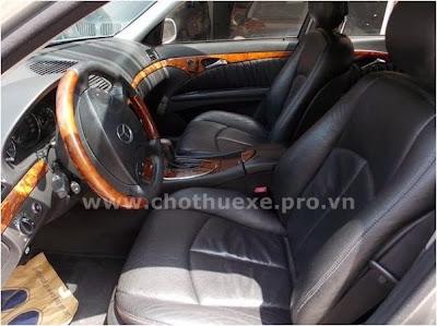 Cho thuê xe Mercedes VIP 240 hạng sang
