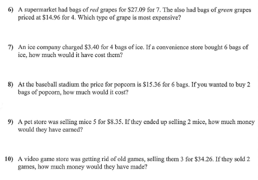 math worksheet : miss kahrimanisu0027s blog day two of unit rate! : Unit Rate Word Problems