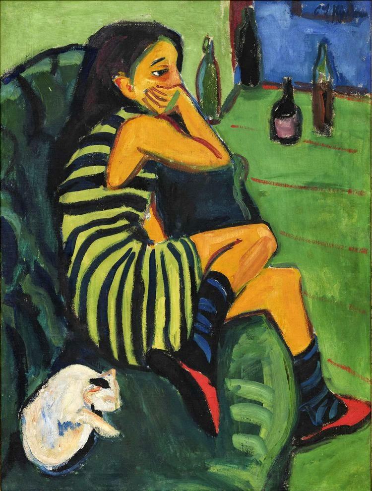 Ernst Ludwig Kirchner - Marcella,1910