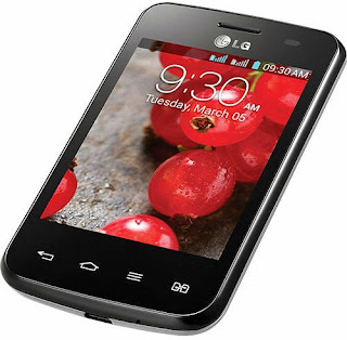 Harga dan spesifikasi LG Optimus L3 E435 Dual