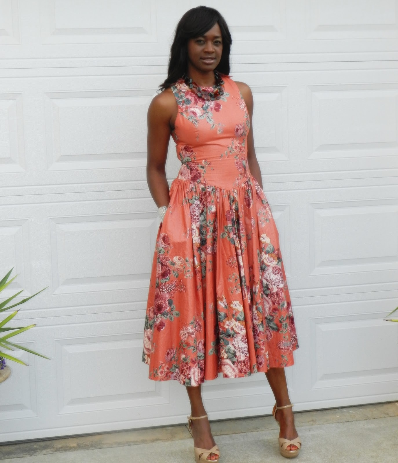 two stylish kays thrifted trends how to wear a midi dress
