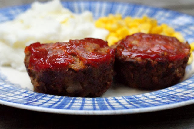 Meatloaf Muffins | The Two Bite Club