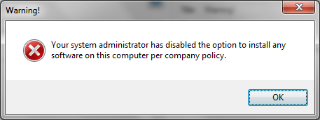 forbid install with install guard