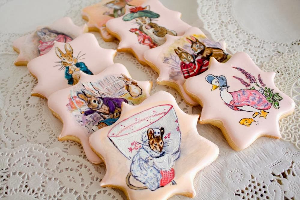 Hand painted cookie artwork. ARTWORK.