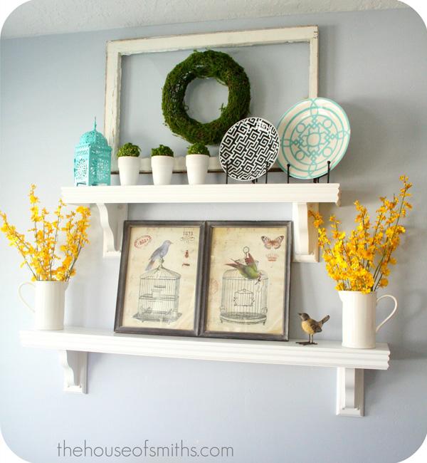Kitchen Shelves Decoration Classic House Roof Design