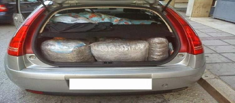 Συνελήφθησαν στην Αμφιλοχία Αιτωλοακαρνανίας, δύο Έλληνες έμποροι ναρκωτικών για διακίνηση ποσοτήτων κάνναβης
