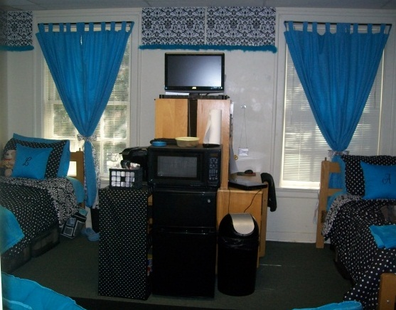 Decorating Ideas > The Domestic Curator BEDECK THE HECK OUTTA YOUR COLLEGE  ~ 075515_Dorm Room Ideas For Privacy