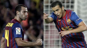 Mascherano y Pedro: los valores del ftbol