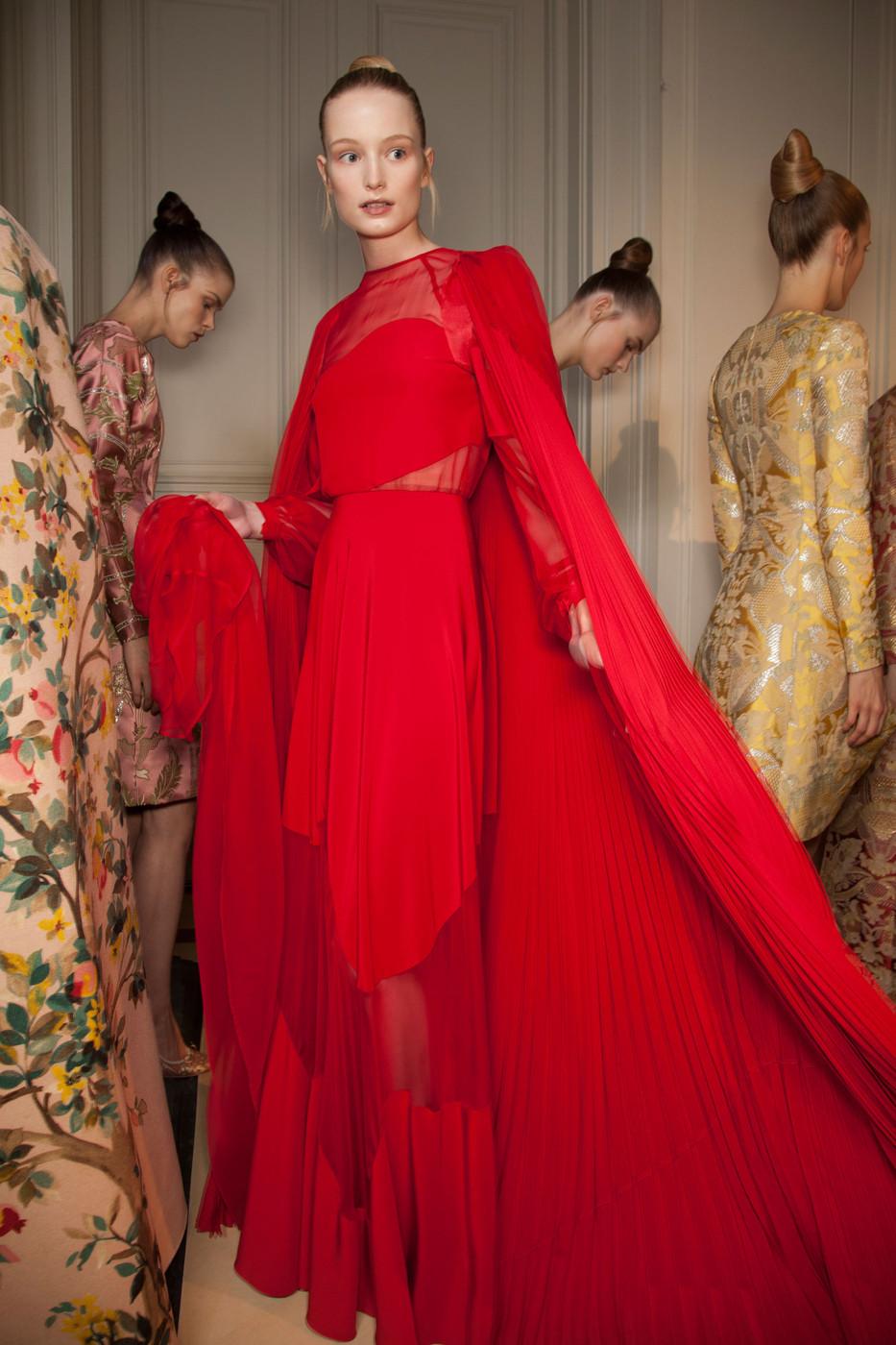 Elite model management blog maud for valentino haute for American haute couture designers