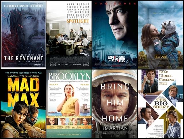 oscars 2016, nominados, nominaciones