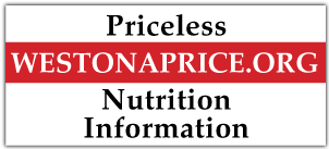 Weston A. Price Nutrition