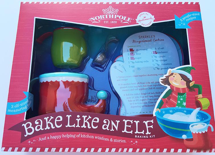 northpole bake like an elf