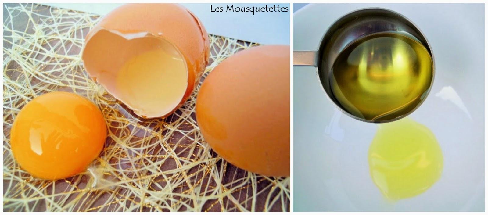 Masque cheveux éclat DIY cosmétique - Les Mousquetettes©