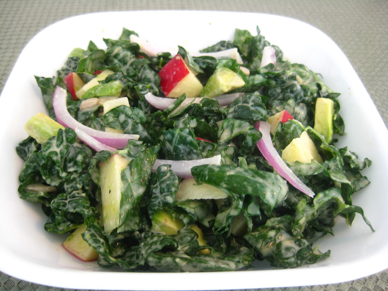 would enjoy eating raw kale so much. This is my go to Kale Salad ...