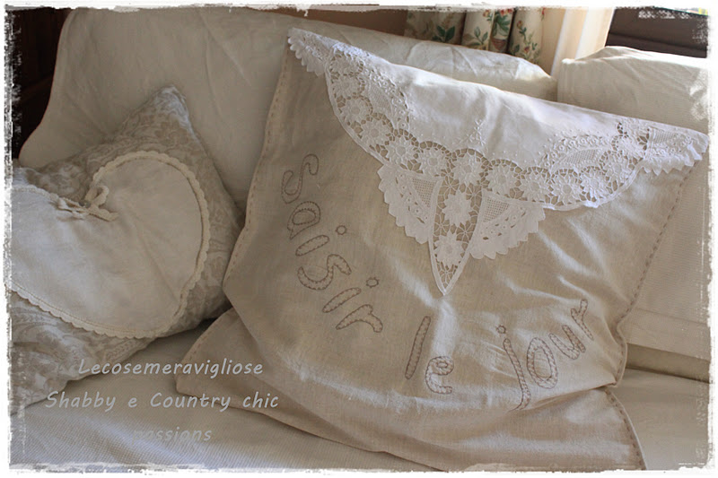 Lecosemeravigliose shabby e country chic passions shabby for Cuscini shabby chic fai da te