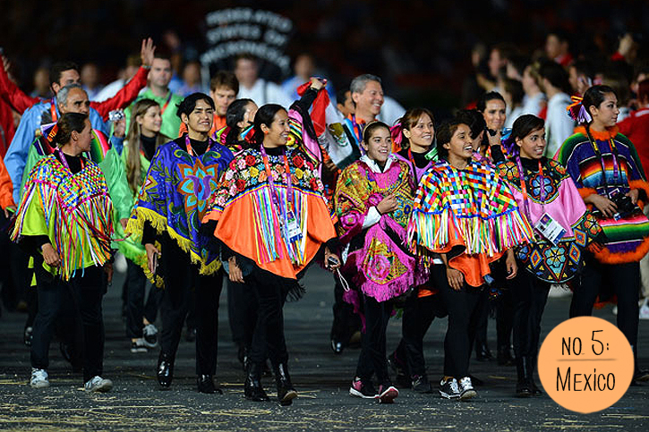 Parade of Nations 2012, Mexico Team uniforms 2012, Opening Ceremony Fashion 2012, Team Mexico, Olympic Fashion, mexican poncho