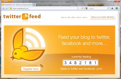 Cara Membuat Postingan Blog Otomatis Masuk ke Twitter