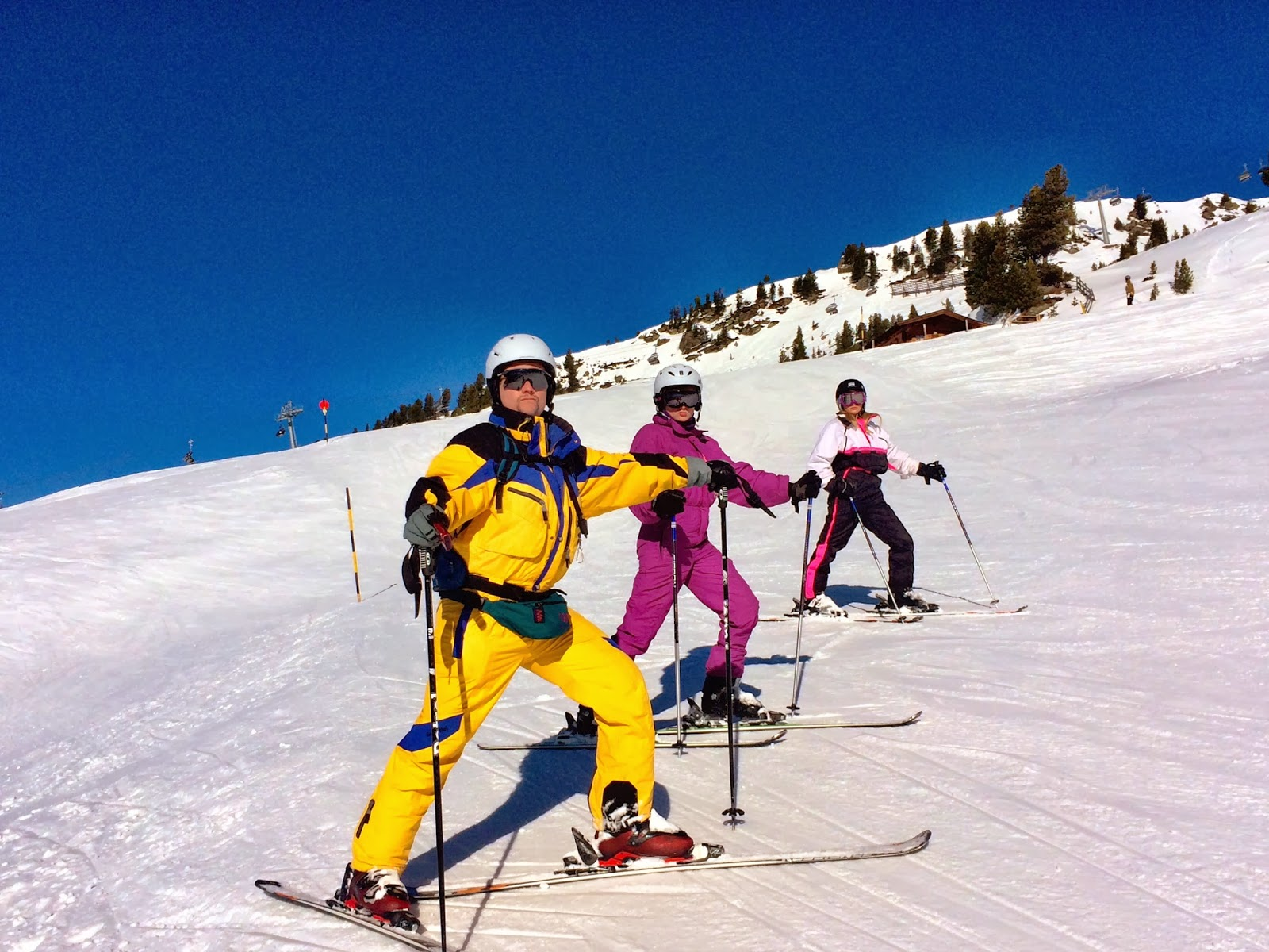 All in one ski suits - Mayrhofen