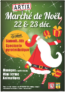 Grand Marché de Noël 2012 à artix