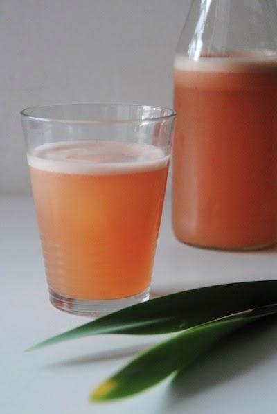 bebida de pomelo y te rojo