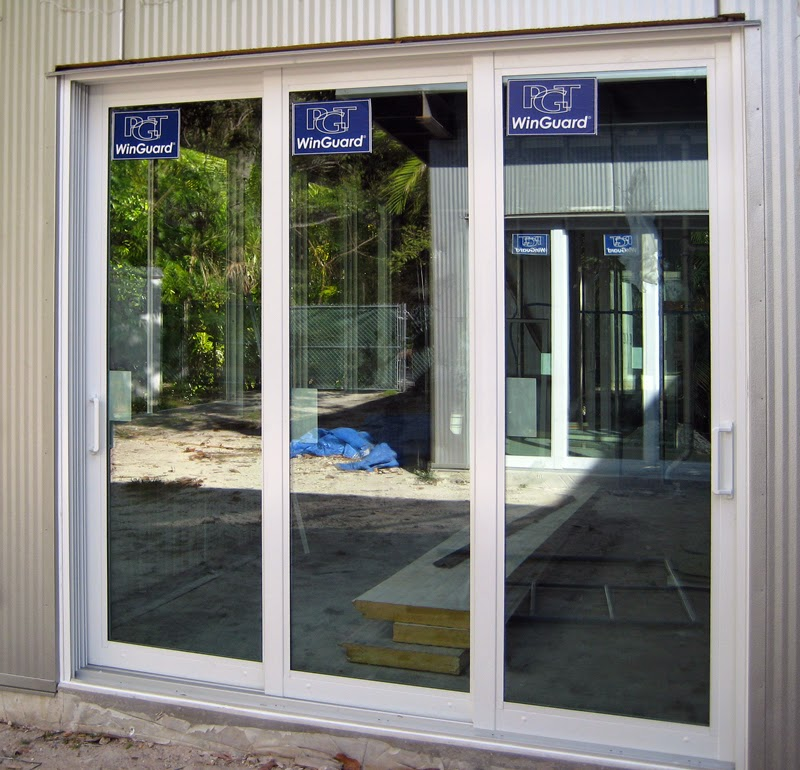 Impact windows and hurricane protection blog for Three panel sliding glass door