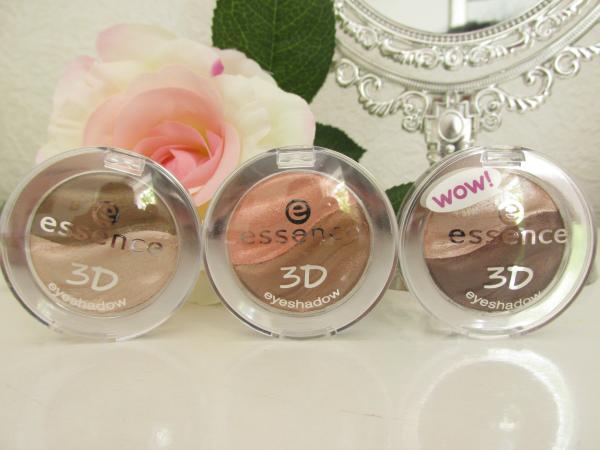 essence 3D eyeshadows Neuheiten Herbst 2014