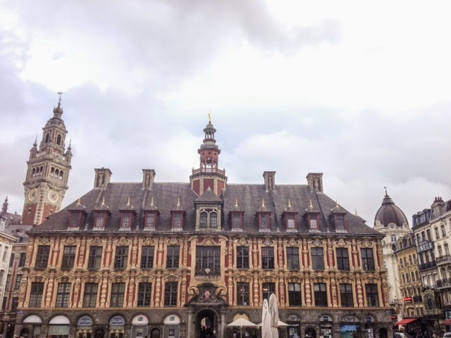 The Vieille Bourse, the old stock exchange