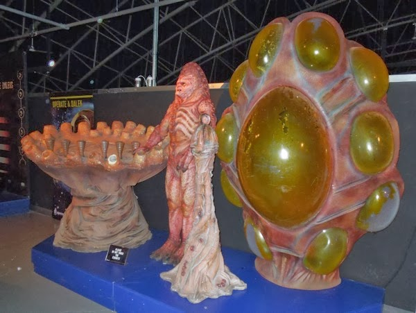 Doctor Who revival Zygon costume props
