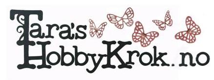 Jeg er designer for Tara's HobbyKrok