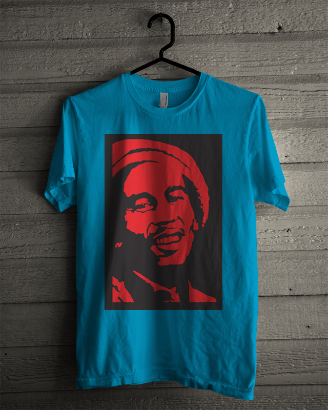 Kaos Distro Bob Marley No Cry