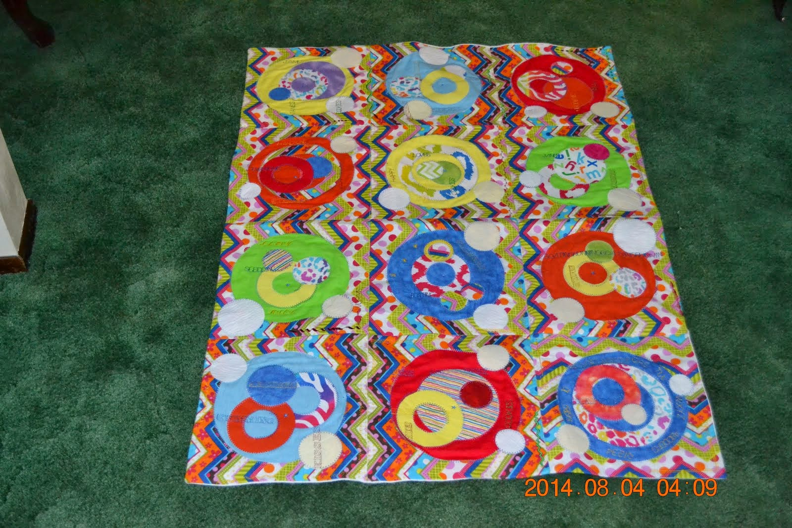 The Flannel Circle Quilt